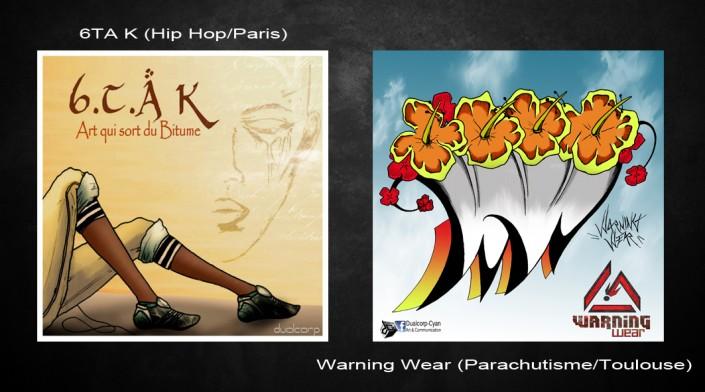 pochette cd logo cyan
