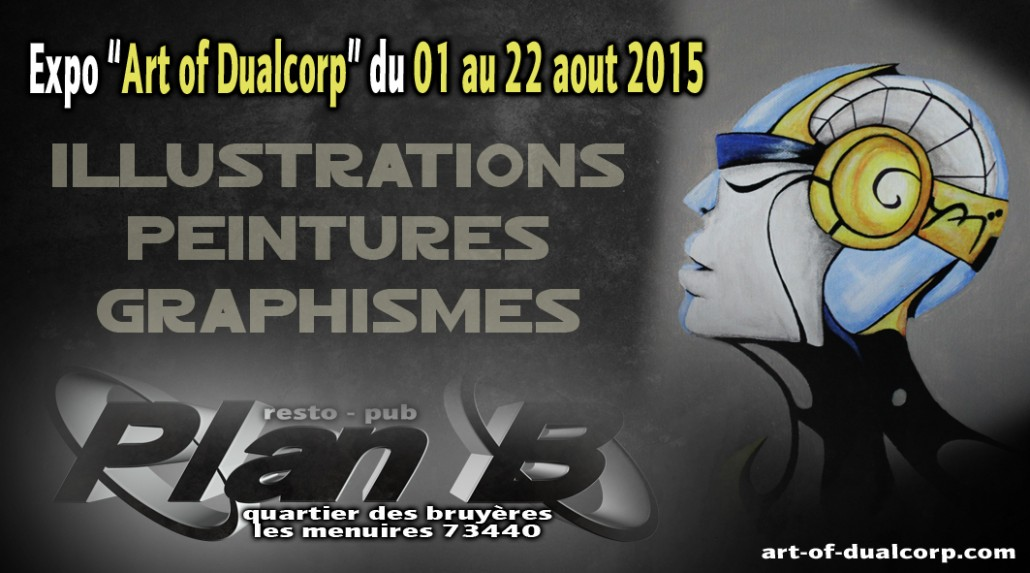 Exposition Art of Dualcorp du 01 au 22 Aout 2015